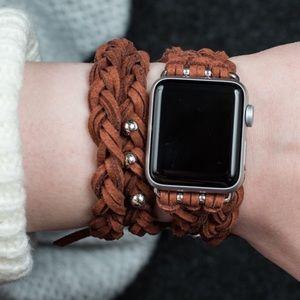 {KAMERON} boho braided wrap Apple Watch band